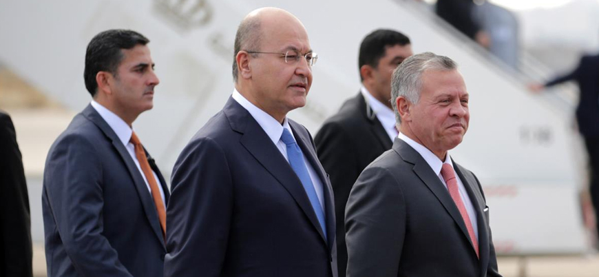 Ürdün Kralı 10 yıl aradan sonra ilk kez Bağdat'ı ziyaret etti
