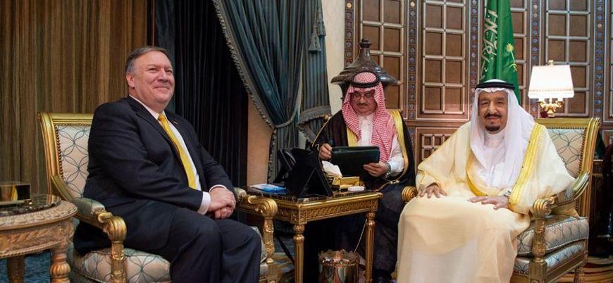 Pompeo Suudi Arabistan Kralı Abdülaziz ile görüştü