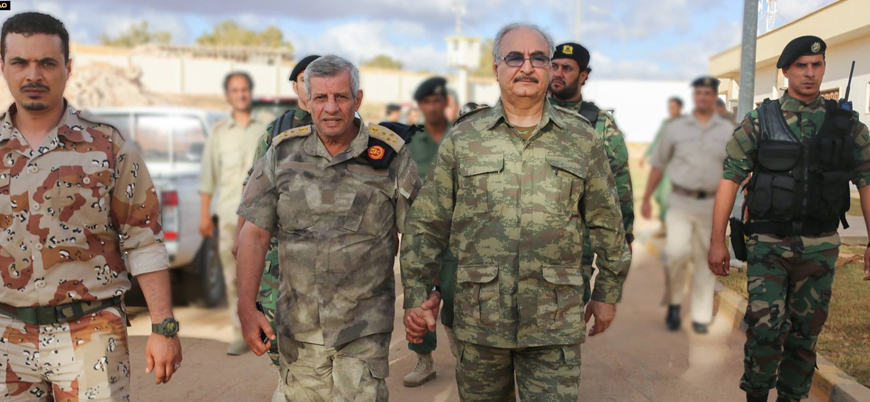 ABD'li üst düzey heyet Libya'da Türkiye karşıtı Hafter ile görüştü
