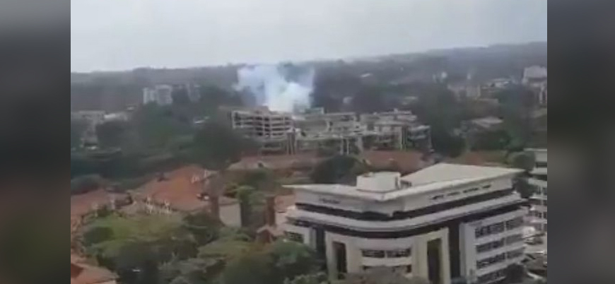Eş Şebab Kenya'nın başkenti Nairobi'de otele saldırı düzenledi
