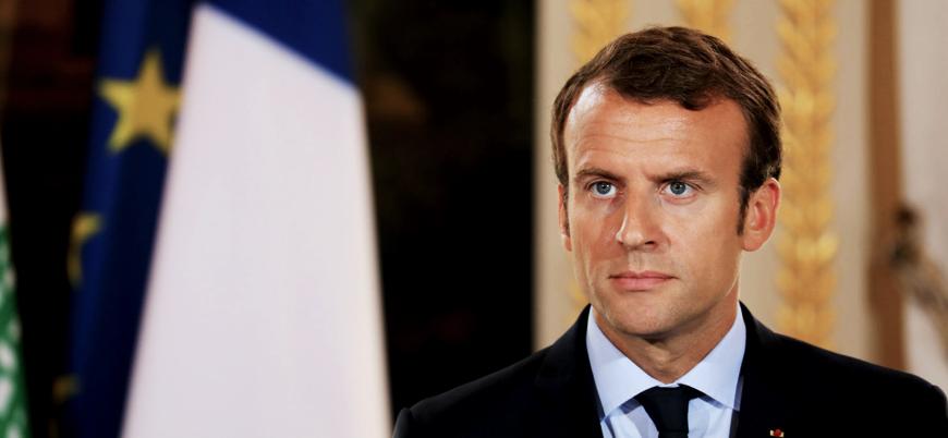 Macron: İngiliz parlamentosu halkına yalan söyledi