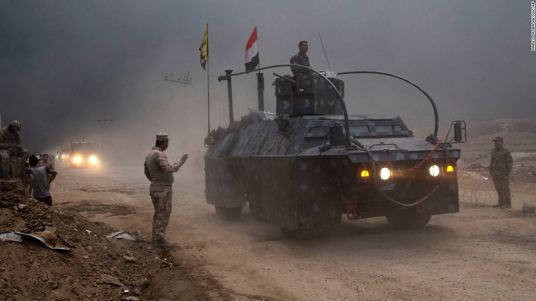 Bağdat hükümeti, Musul'un güneydoğusunu ele geçirdi