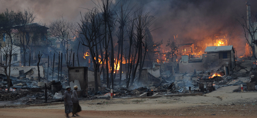 Myanmar ordusundan Arakanlıların köylerine yönelik yeni saldırı dalgası