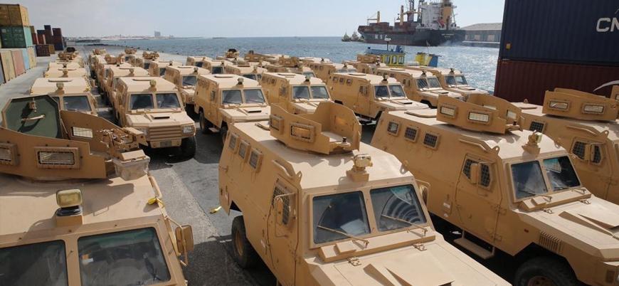 Katar Eş Şebab'a karşı Somali'ye çok sayıda zırhlı araç hibe etti