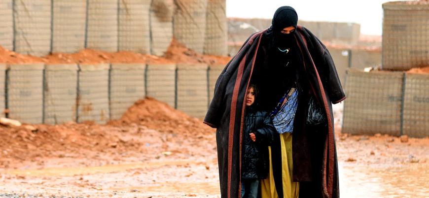 Suriye-Ürdün sınırındaki Rukban mülteci kampında 15 çocuk soğuktan öldü