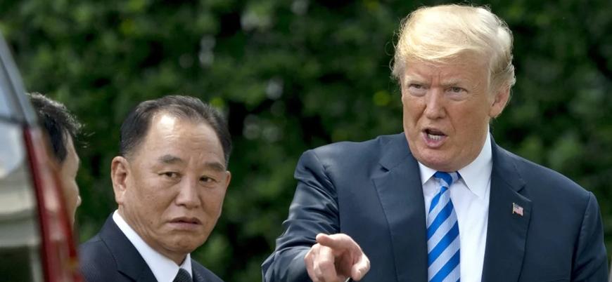 Kuzey Kore liderinin 'sağ kolu'ndan Trump'a mektup