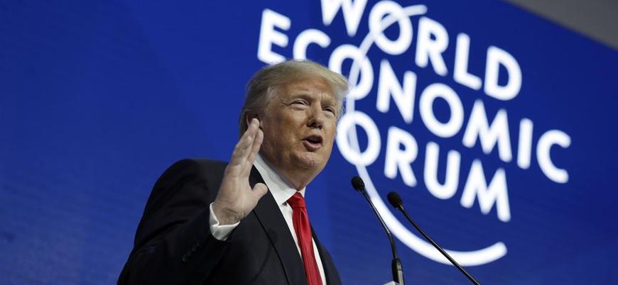 Trump Davos'a gidecek heyetin seyahatini iptal etti