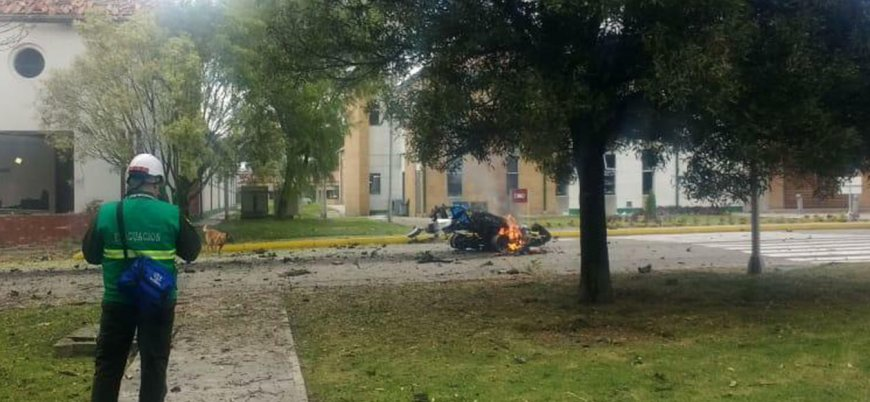 Kolombiya'da 21 kişinin öldüğü bombalı saldırı sonrası ulusal yas ilan edildi
