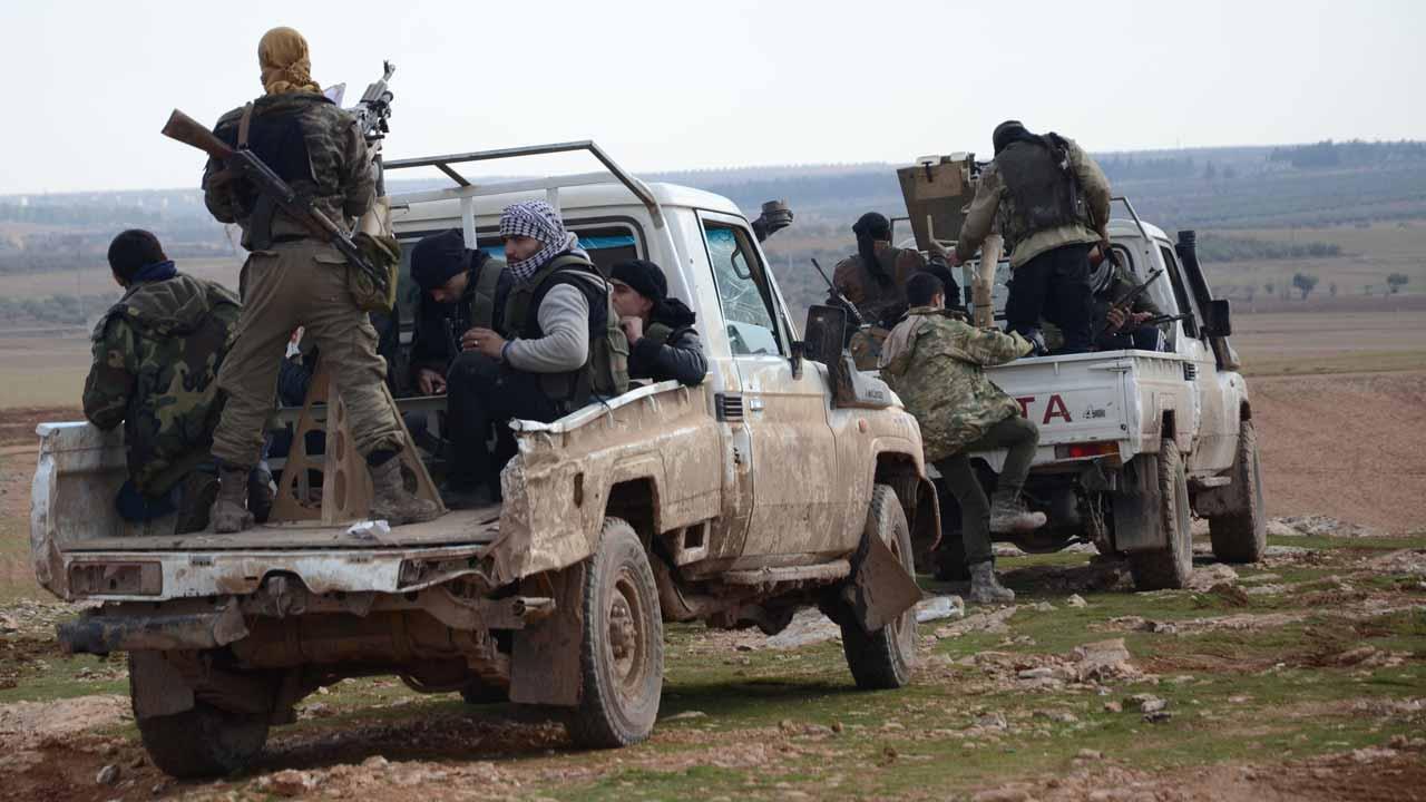 El Bab'da ÖSO'ya bombalı araç saldırısı