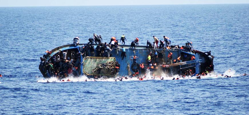 Akdeniz'de göçmenleri taşıyan tekne battı: 40 kişi ölmüş olabilir