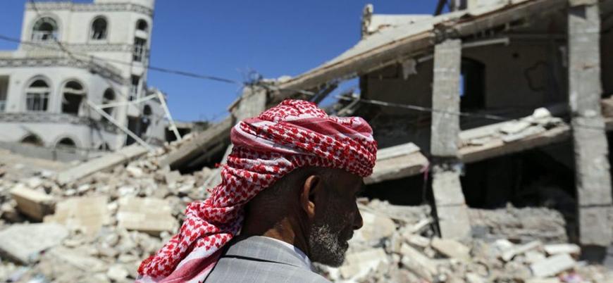 Suudi koalisyonu başkent Sana'yı vurdu
