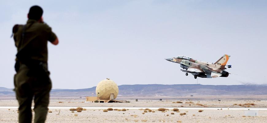 İsrail'den Suriye'de İran hedeflerine hava saldırısı