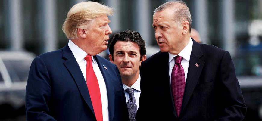 """Erdoğan Trump'la görüştü: """"Münbiç'in güvenliğini devralmaya hazırız"""""""
