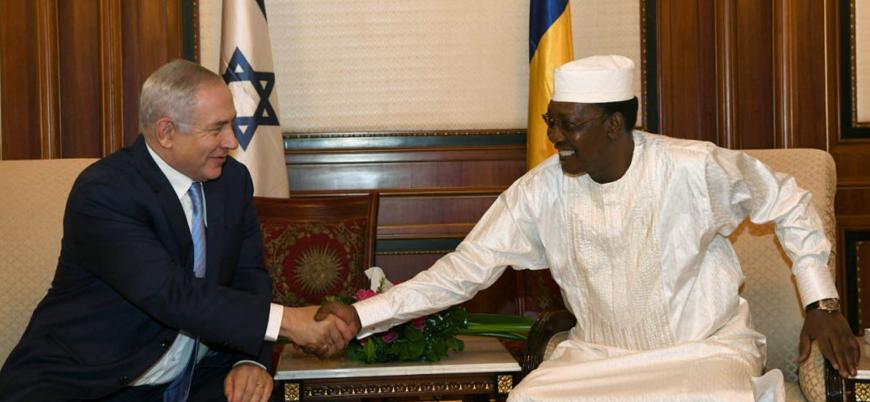 """Netanyahu'dan Çad'a ziyaret: """"Müslüman ülkede saygıyla karşılaşmak memnun edici"""""""