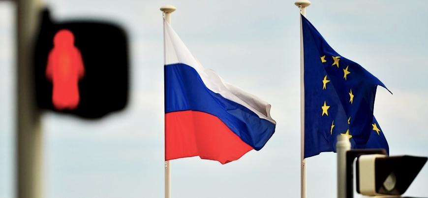AB'den Rusya'ya yaptırım kararı