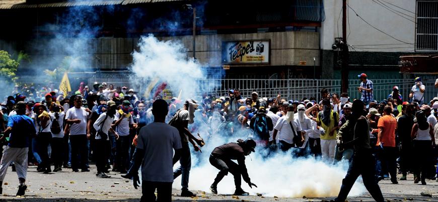 Maduro'ya karşı ayaklanma çağrısı yapan askerler gözaltına alındı