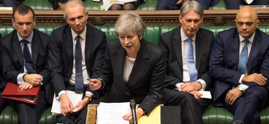 May'e partisinden 'Brexit'e destek karşılığında istifasını açıklama' şartı
