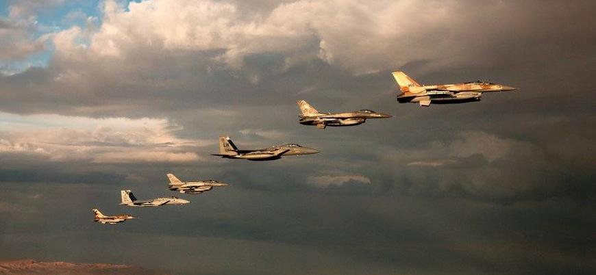 İsrail'in Suriye'de düzenlediği hava saldırılarında 10'dan fazla İran askeri öldü