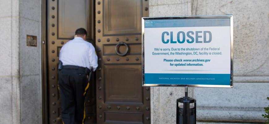 ABD'de hükümetin kapalı olması ne anlama geliyor?