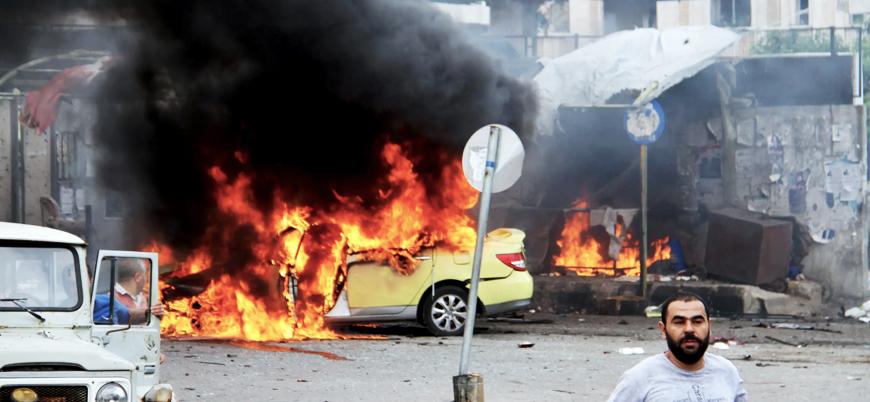 Esed rejimi kontrolündeki Lazkiye'de bombalı araç patladı