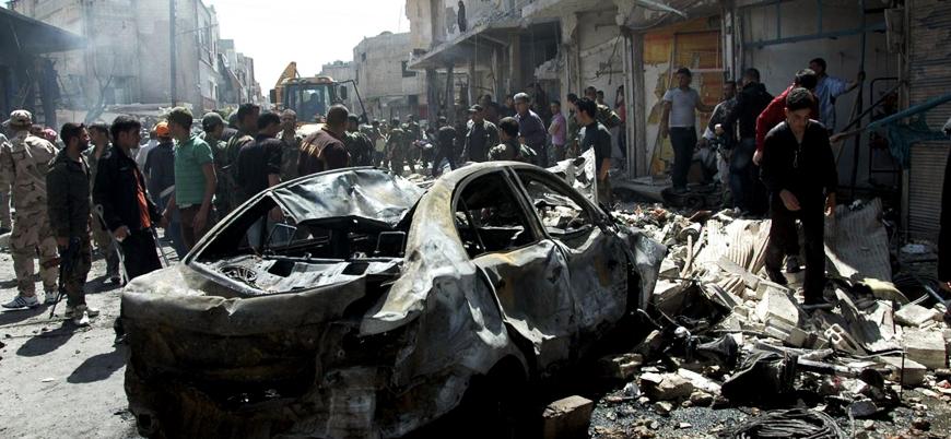 Afrin'de ÖSO'ya yönelik bombalı saldırı