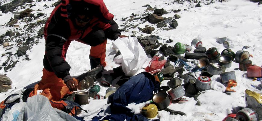 Çöp yığını temizlenecek ve cesetlere ulaşılacak: Çin Everest ziyaretlerini kısıtlıyor