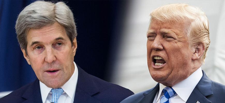 ABD eski Dışişleri Bakanı Kerry: Trump istifa etmeli
