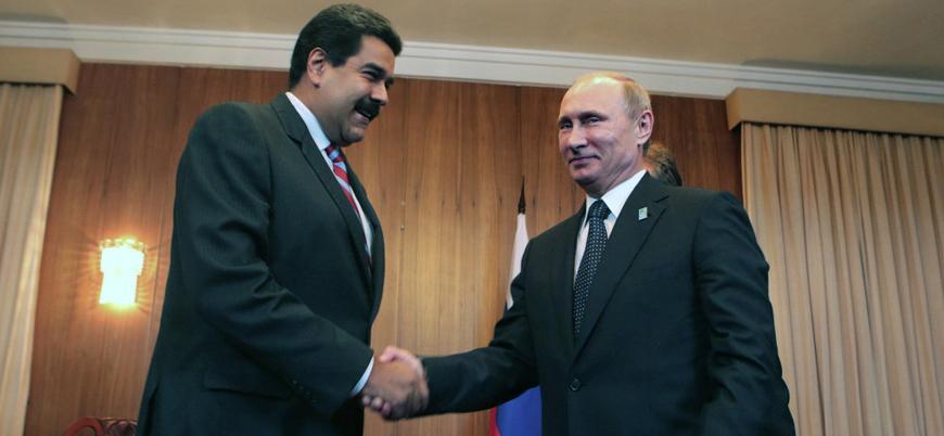 Rusya ve Çin'den destek: Venezuela'nın meşru lideri Maduro