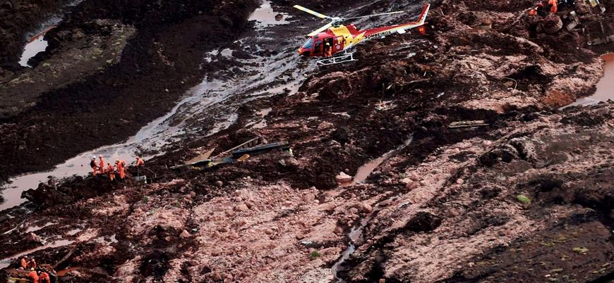 Brezilya'da atık barajı çöktü: 200'den fazla kişi kayıp