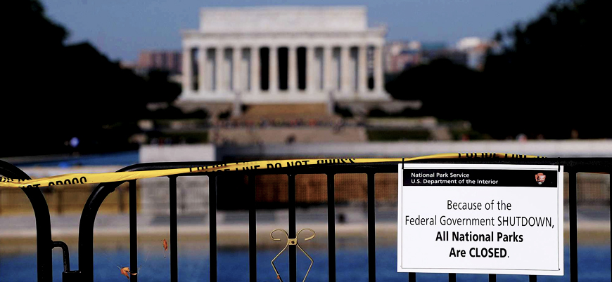 Hükümetin kapalı kalmasının ABD'ye maliyeti 6 milyar dolar