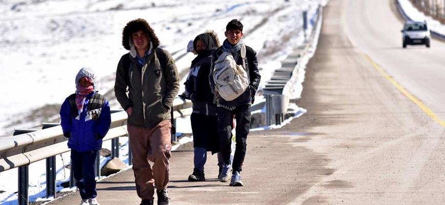 Türkiye'den Avrupa'ya geçen sığınmacılarda artış