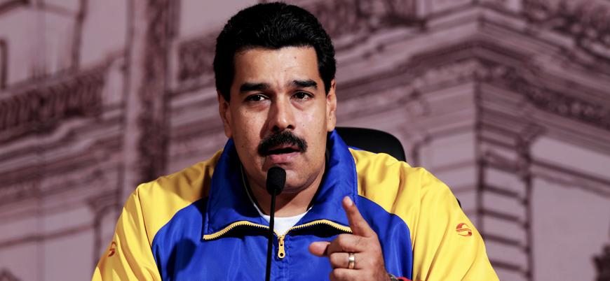 Maduro: ABD'ye gereken cevabı vereceğiz