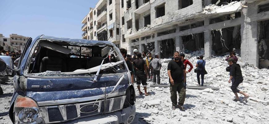 İdlib'de HTŞ'ye bağlı 'Ulusal Kurtuluş Hükümeti'ne yönelik bombalı saldırı