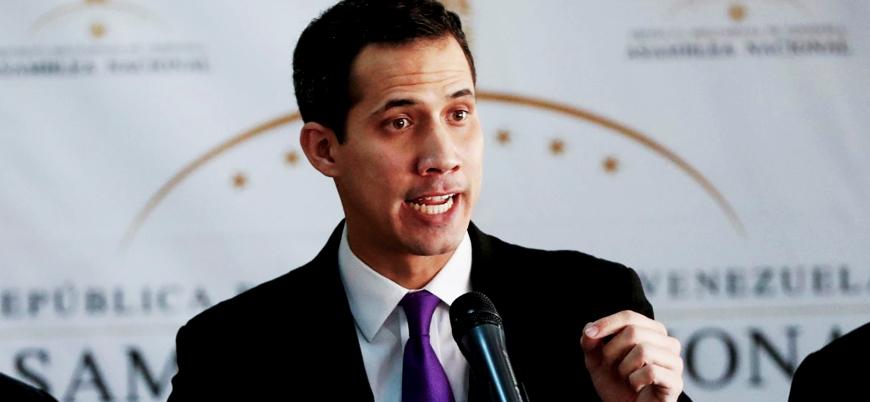 ABD Guaido'ya Venezula'nın mal varlıklarının kontrolünü verdi