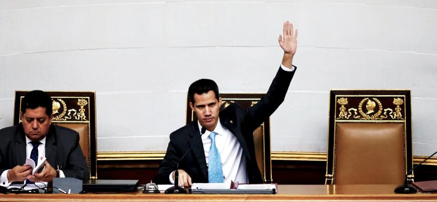Venezuela'da kendini devlet başkanı ilan eden Guaido hakkında soruşturma başlatıldı
