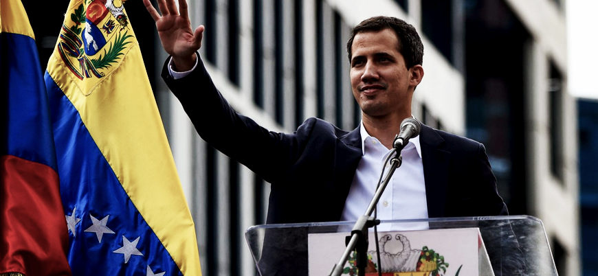 Guaido'dan Avrupa Birliği'ne 'Venezuela' çağrısı: ABD gibi siz de yaptırım uygulayın