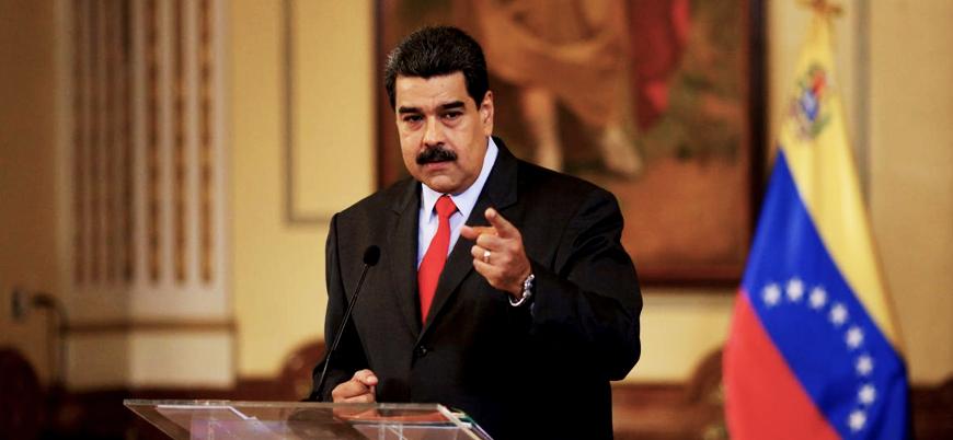 Maduro: Ordudan ayrılanlar Kolombiya'da darbe planlıyorlar