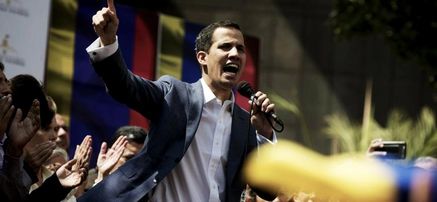 Venezuela'da kendini başkan ilan eden Guaidó: Orduyla gizli görüşmeler yaptık