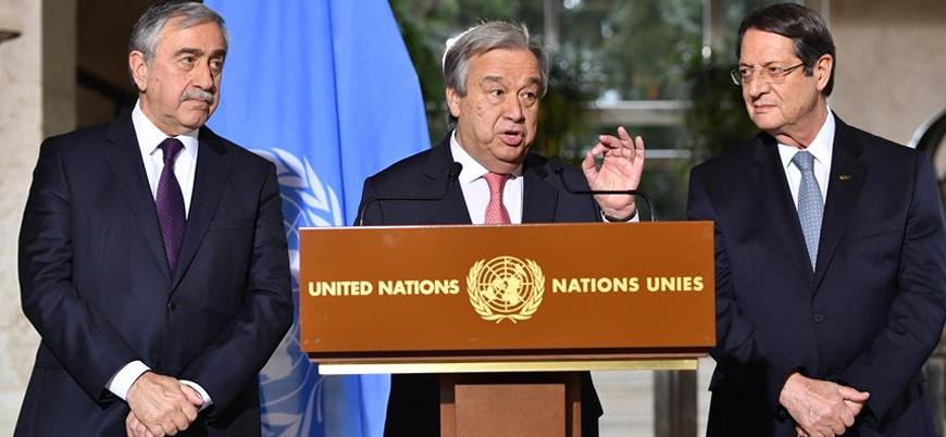 Türkiye'den Birleşmiş Milletler'e 'Kıbrıs' tepkisi