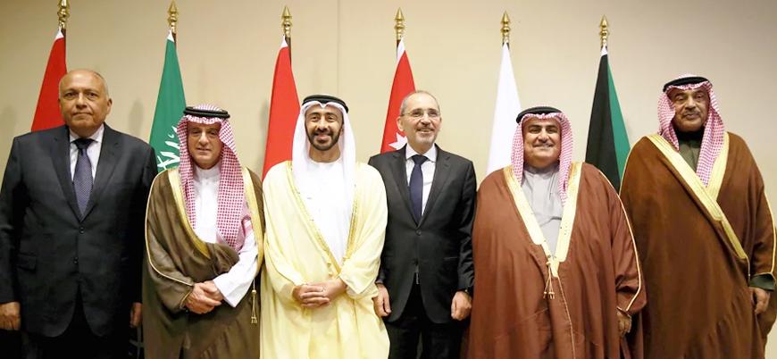 Altı Arap ülkesinden 'Ortadoğu zirvesi' öncesi işbirliği toplantısı