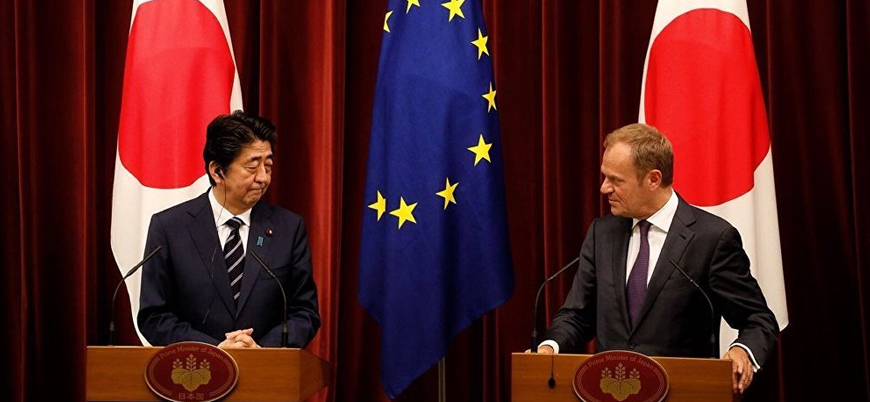 Japonya ile AB arasında kapsamlı ticaret anlaşması imzalandı