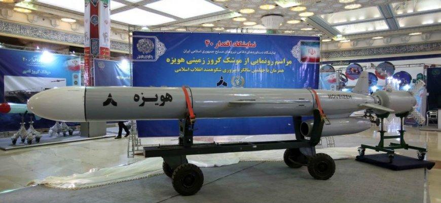 İran 1300 km menzilli seyir füzesini test etti