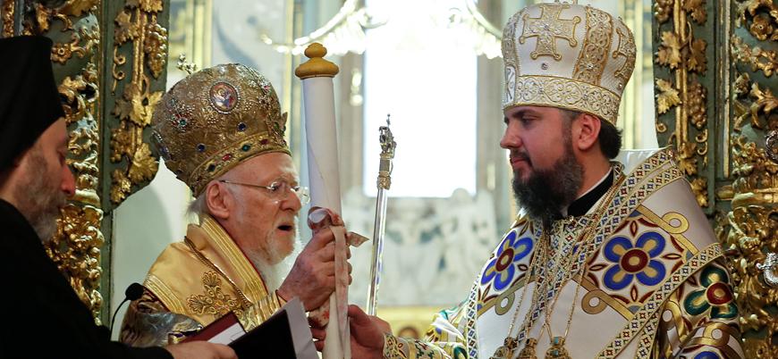 Kıbrıslı Ortodokslardan Fener Rum Patrikhanesi'nin Ukrayna kararına destek