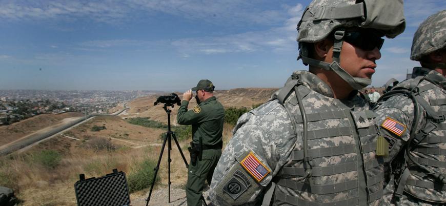 ABD Meksika sınırına 3 bin 750 asker daha gönderiyor