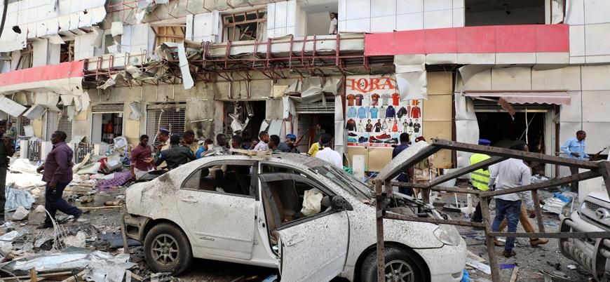 Somali'nin başkenti Mogadişu'da bombalı saldırı: En az 11 ölü