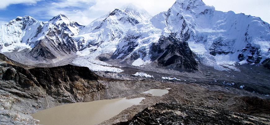 İklim krizi yaklaşıyor: Himalaya buzulları eriyecek