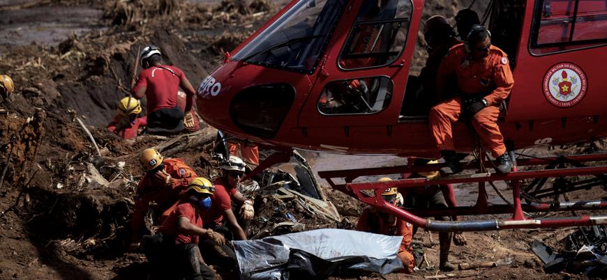 Brezilya'daki baraj faciasının bilançosu artıyor: Ölü sayısı 134'e ulaştı