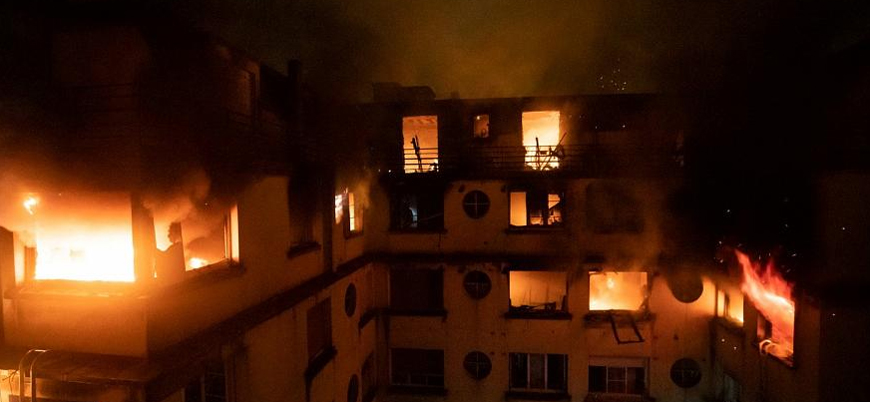 Fransa'nın başkenti Paris'te yangın: 8 ölü