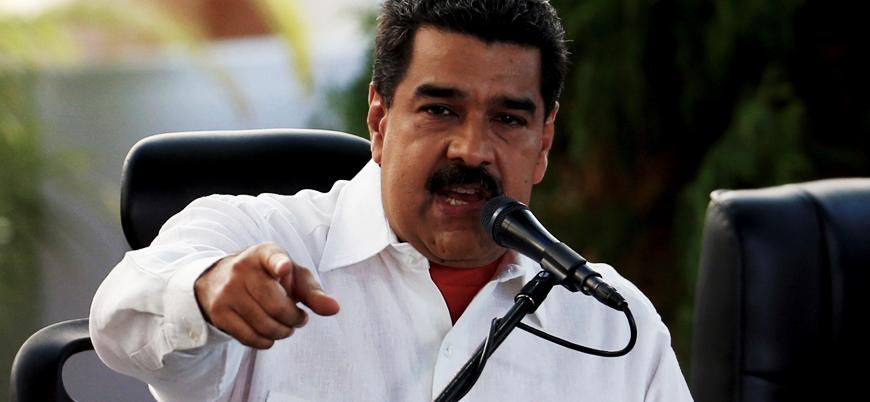 Maduro: ABD müdahalesine çok sert tepki veririz