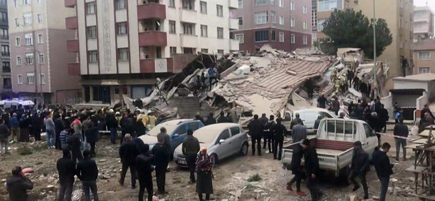 İstanbul Kartal'da 7 katlı bir bina çöktü: Yayın yasağı geldi